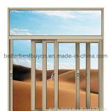 Тип самого лучшего цены новый сползая окно алюминиевого сплава отверстия