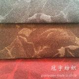 Velours mou de la meilleure qualité de polyester de tissu pour le sofa