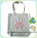 Bolso de mano de encargo reciclable del algodón de la impresión del bolso de totalizador del algodón