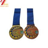 3D personnalisé Prix Médaille d'or avec Ruban (YB-MD-53)