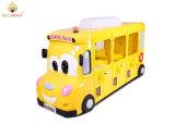 Macrown 6 jugadores de la Escuela de Bus de felpa amarilla uña de gato uña de jugadores múltiples de la máquina la máquina