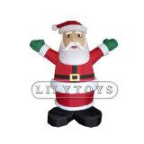 Modèle gonflable caricature de Noël pour le jour de Noël et de la publicité