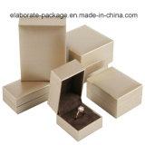 Contenitore di monili di legno stampato marchio su ordinazione di lusso caldo di vendita