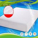 防水優れたテリーの洗濯できるマットレスの保護装置カバー