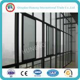 Vidrio aislado E inferior de la pared de cortina para el edificio