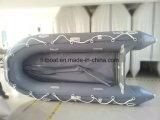 0,9 mm de PVC casco del barco inflable con 240 cm Longitud