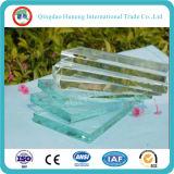 3.2mm- ultra de 19mm/vidro de flutuador extremamente desobstruído (baixo vidro do ferro/vidro casa verde)