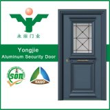 Дверь качания обеспеченностью изготовлений высокого качества алюминиевая