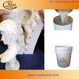 Cure de condensation RTV Silicone pour moulage de gypse / moulage de béton / moulage de ciment