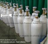 医学のガス供給システムのための小さい継ぎ目が無い鋼鉄酸素ボンベ