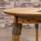 حديثة ركن جانب طاولة أثاث لازم [رووند تبل] [أ03-5] محدّد