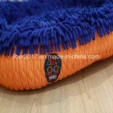 Blaues weiches warmes Haustier-Bett-Hundekatze-Bettwäsche-Haus-Kissen