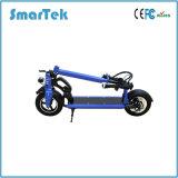 Smartek E-Vélo de 10 pouces pliant le scooter intelligent restant le scooter électrique intelligent avec le port USB et l'éclairage LED pour S-005-4 extérieur