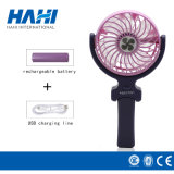 Novo presente portátil USB Stand Fan DC Electric Desk Fan Mini ventilador dobrável Fan da mão