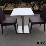 レストランのための中国のアクリルの固体上のダイニングテーブル