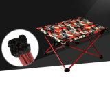 Mimi Super ligero aluminio plegable de camuflaje mesa de picnic (MW12019S)