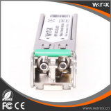 Transmisor-receptor compatible extremo de los DOM de las redes MGBIC-LX-40 100BASE-EX SFP 1310nm los 40km