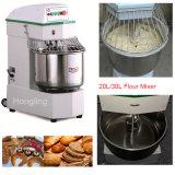 mezclador del espiral de la operación manual de 10L 20L para el departamento de la panadería