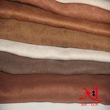 소파를 위한 100%년 폴리에스테 보통 염색 의복 스웨드 직물