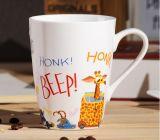 Tasses en céramique de thé personnalisées par 16oz de la livraison rapide grandes avec la cuillère