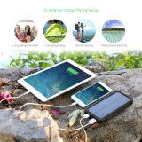Портативное солнечное внешнее iPhone Samsung Powerbank 15000mAh панели солнечных батарей батареи