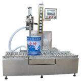 Máquina de rellenar gravimétrica semi líquida automática