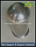 304 perfurou o filtro de engranzamento do fio do aço inoxidável
