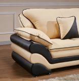 Sofà di cuoio del salone per la mobilia moderna del sofà del sofà del cuoio genuino