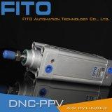 DNC100 ISO6432 Pnuematicの空気シリンダー