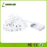 Caja de batería luz LED de cadena uso al aire libre