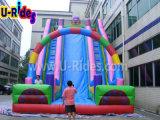 De commerciële opblaasbare dia van de dia opblaasbare bouncy van de waterdia opblaasbare met boog voor verkoop
