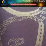 Ткань жаккарда полиэфира с «цепью», ткань жаккарда Twill полиэфира на одежда (25)