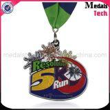El SGS revisó las medallas de la corrida de la resolución del brillo 5k de la calidad de la fábrica