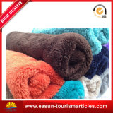 販売のための極度の柔らかいフランネルの羊毛毛布