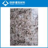 Plaque en aluminium enduite de marbrure pour le mur rideau