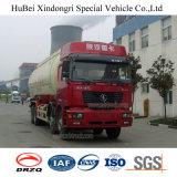 camion de réservoir de poudre de charbon de bois de l'euro 3 de 37cbm Shacman avec le moteur diesel de Cummins