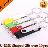 Clé de mémoire USB colorée de portable des cadeaux chauds OTG de promotion (YT-1201-02)