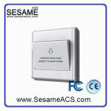 MIFARE13.56MHz Cartes Interrupteur d'insertion d'hôtel avec lumière LED (SH3C)