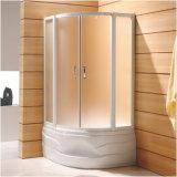 Deux panneaux de porte coulissante de pièce jointe de douche (K-222)