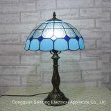 Lámpara de lectura manchada de cristal de la tabla para Tiffany