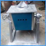 Forno de Indução de Derretimento de Ouro de Média Frequência 10kg (JLZ-15)