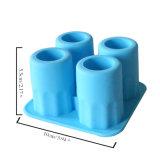Силиконовый Ice Cube в лоток Maker / Freeze чашки пресс-формы / 4PCS чашки форма силиконового льда лоток