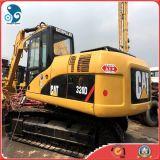 Máquina escavadora hidráulica da lagarta da maquinaria de construção com a almofada da trilha de 800mm (CAT 320D2)