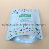 Promoción de los alimentos Levántate de embalaje de plástico con bolsa Ziplock