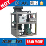 Fabricante de hielo comestible de calidad superior del tubo de Icesta 40t/24hrs