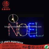 Luz a pilhas de cobre do fio 3V Christams /59LED do diodo emissor de luz 18 de '' para a decoração