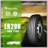 Gummireifen-Schlussteil-Reifen-LKW-Gummireifen der Leistungs-265/70r19.5 mit ECE-PUNKT GCC