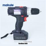 전기 손 코드가 없는 교련 공구를 빠르 비용을 부과하는 Makute 12V/16V/21V