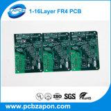 Fr4 4 capas PCB multicapa con oro de la inmersión One Stop de servicio en PCB y PCBA Componentes Electrónicos