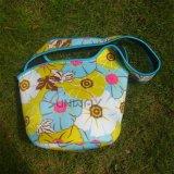La bolsa de picnic de mano, de encargo neopreno de la impresión con aislamiento Beach bolso del refrigerador (BC0072)
